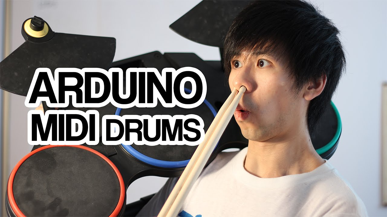 Arduino Drum MIDI | Rock Band Guitar Hero Mod