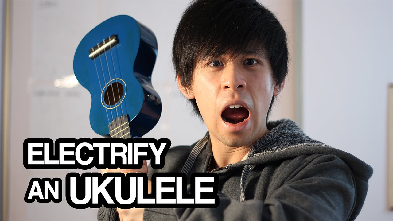 Electric Ukulele DIY Pickup with Tone Controls