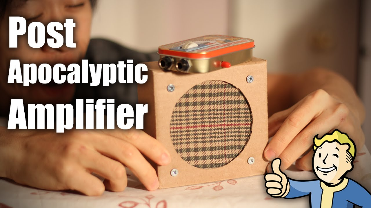 Mini Tin Can Amp (Post-Apocalyptic Amplifier)