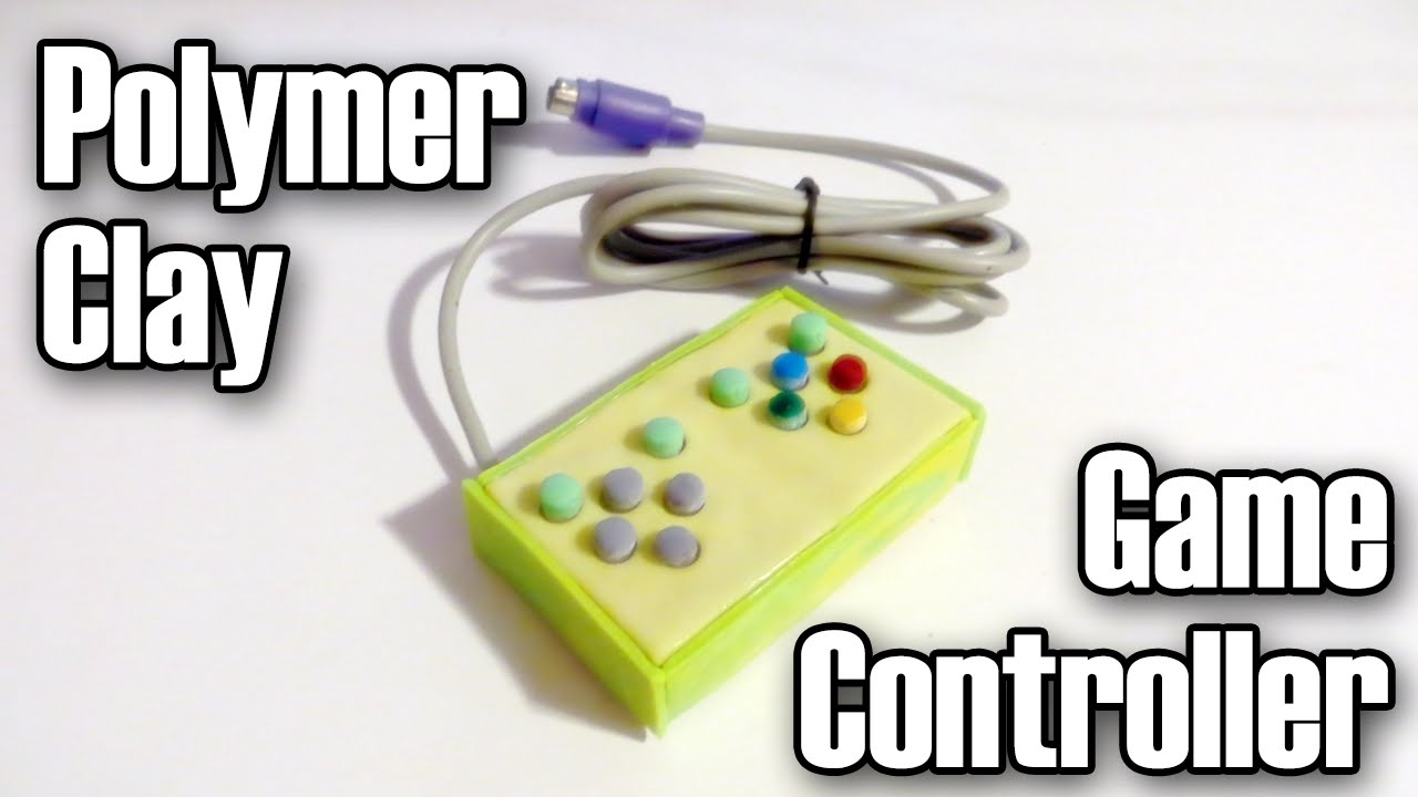 Polymer Clay Mini Game Controller