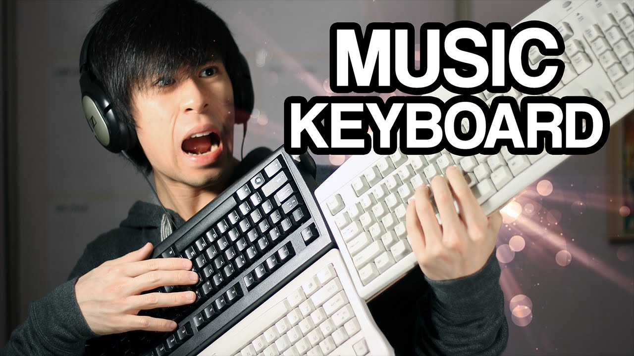 Build MIDI Controller with 400 Keys (Arduino and PC Keyboards)